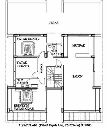 Kyrenia Court XVI - 3rd Floor Plan