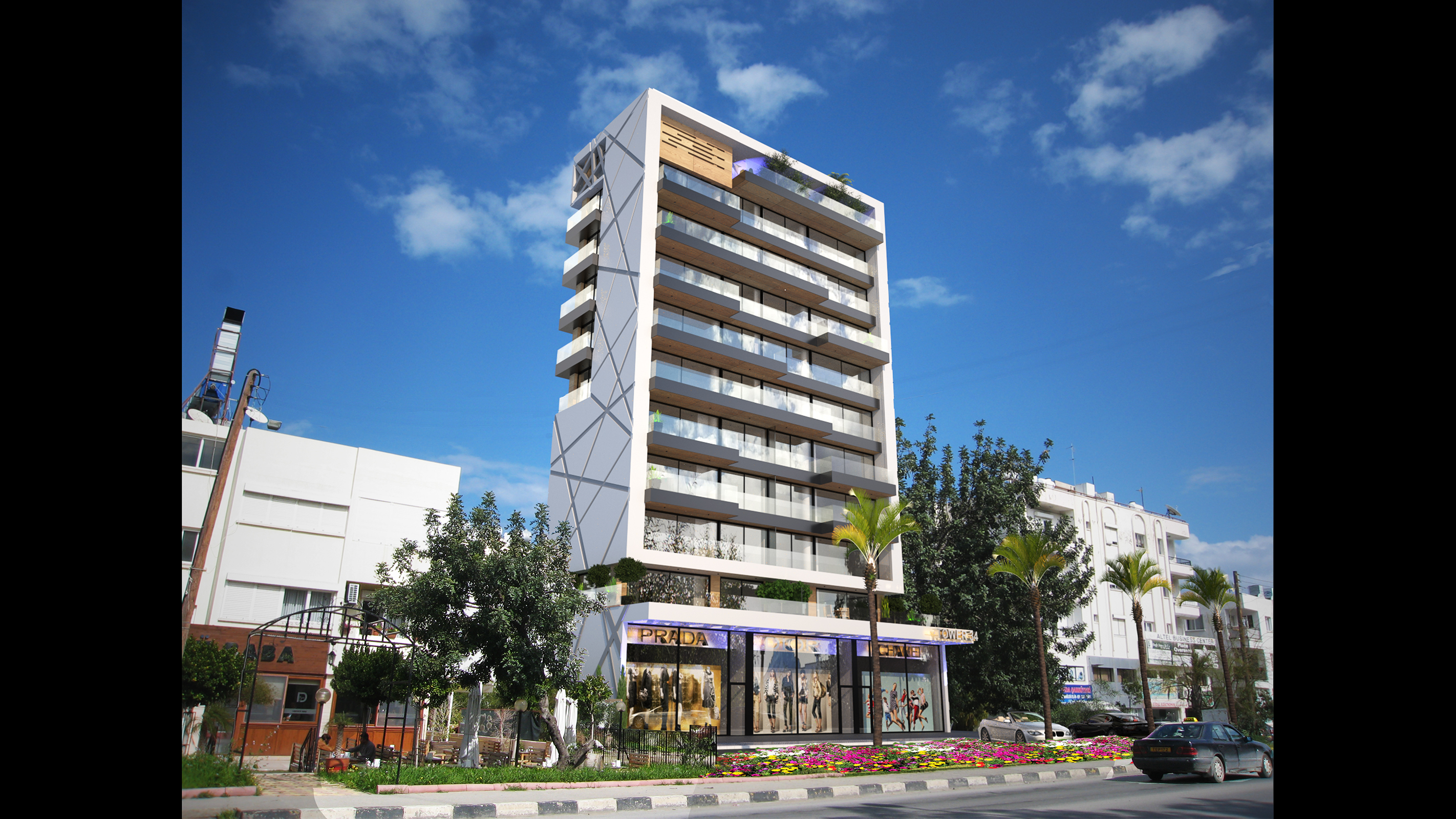 Tower 34 Luxury Apartments Central Kyrenia Northern Cyprus