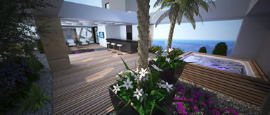 Tower 34 - Central Kyrenia, North Cyprus - Enjoy the warmth of the Mediterranean in comfort and luxury