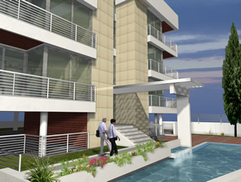 Kyrenia Court Suites I - Property in Kyrenia, Northern Cyprus